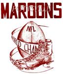 Pottsville Maroons - Boston Bulldogs logo