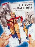Aafc-game-program 1949-10-09 buf-la