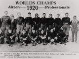 List of NFL champions (1920-1969)