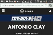 Antonio Clay (Dallas Cowboys)