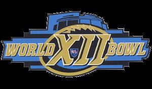 World Bowl XII