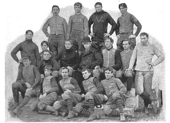 1893 college football season