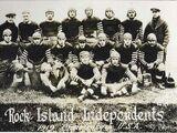 1919 Rock Island Independents season