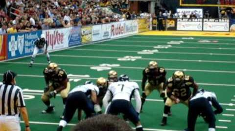 Iowa Barnstormers 2010 AFL Touchdown LIVE!