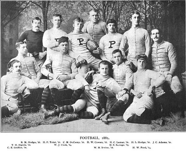 1885 Princeton Tigers football team