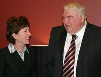 Susan Collins and John Madden