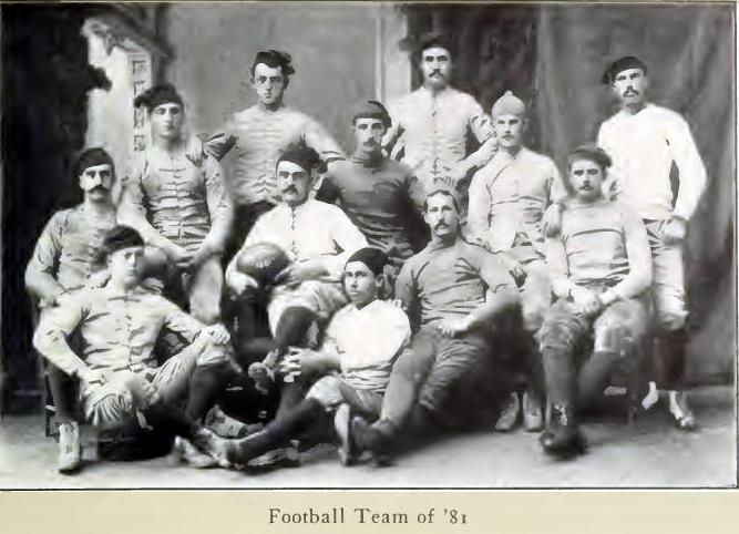 1881 college football season