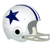 Dallas Cowboys helmet 1960