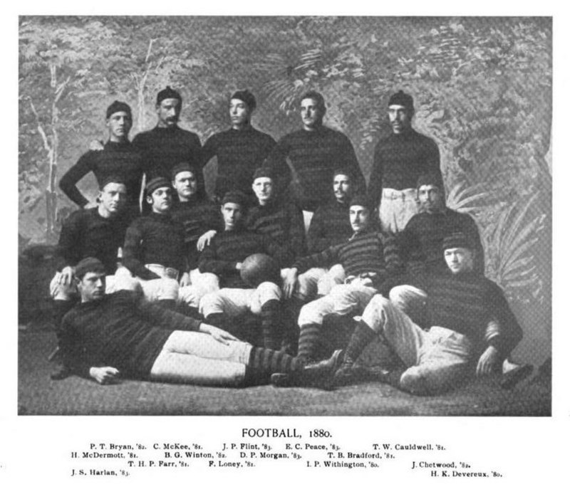 1880 Princeton Tigers football team