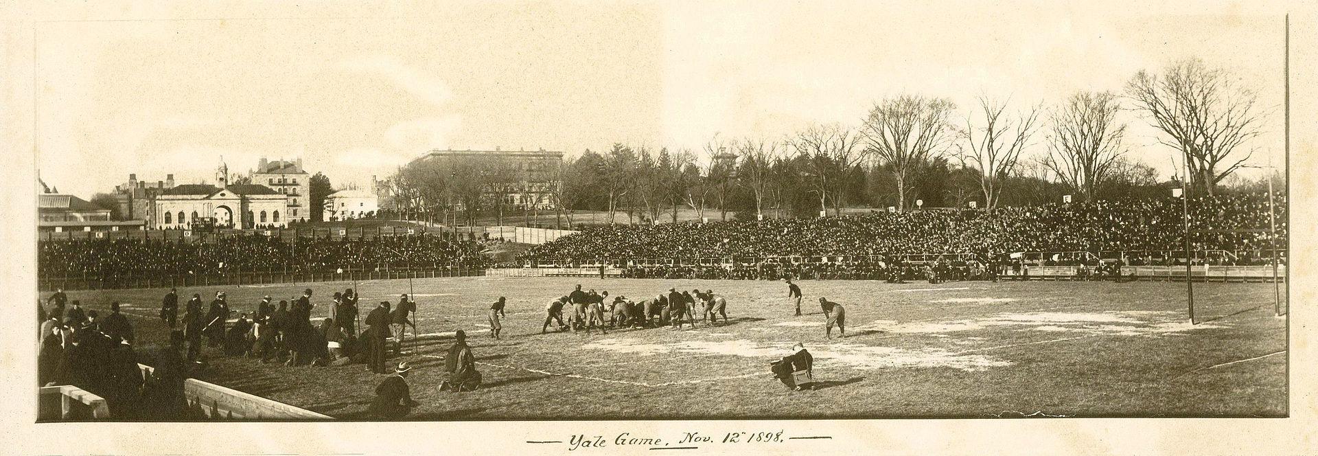 1898 college football season