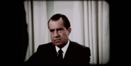 Richard Nixon in Red Moon on For All Mankind
