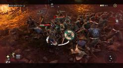 Duty - pushing the Vikings back