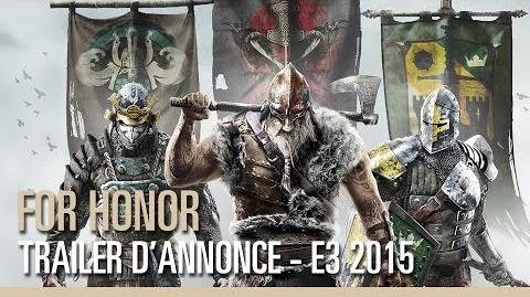 For Honor – Trailer d'annonce – E3 2015