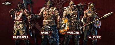 For Honor Berserker Raider Warlord Valkyrie.jpg