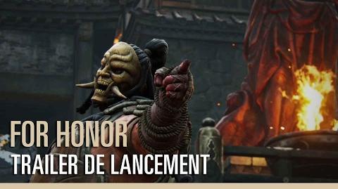 For Honor - Trailer de lancement