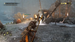 Valkenheim in Winter - Holden Cross and catapult