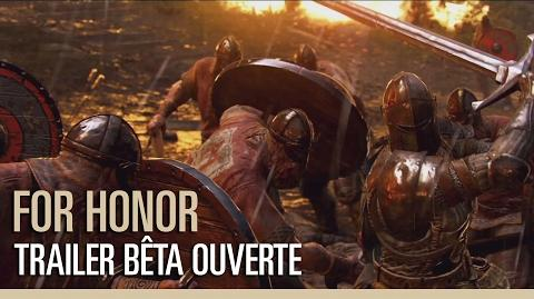 For Honor - Trailer Bêta Ouverte