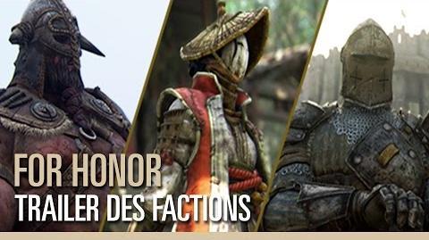 For Honor - Trailer des factions Viking, Samouraï & Chevalier
