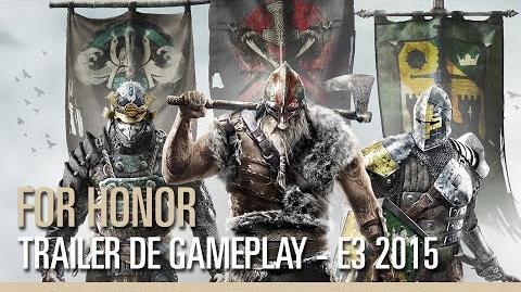 For Honor – Trailer de gameplay – E3 2015