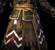 Warden standard and legs