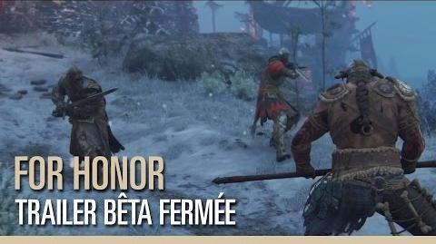 For Honor - Trailer Bêta Fermée