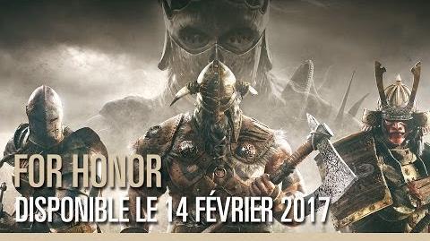 For Honor - Trailer cinématique - E3 2016