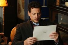 Henry Morgan with a paper - Pilot
