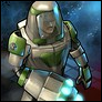 Exoskelett-Soldat