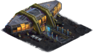 Space Age Asteroid Belt Town Hall (Asteroid Belt)