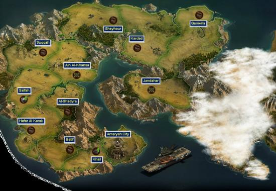The Contemporary Era Map