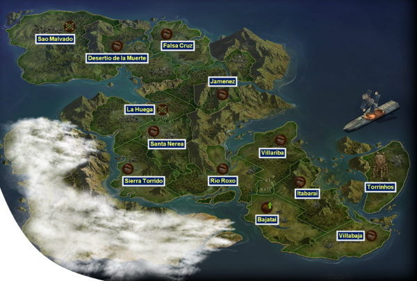 The Tomorrow Era Map