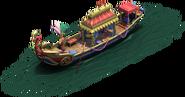 Mughals Ship