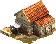 Ziegeldachhaus