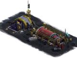 Unterirdischer Reaktor
