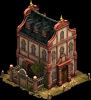 Mansardendach-Haus