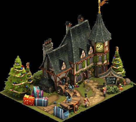 Weihnachtsmann-Werkstatt