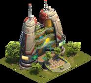 Space Age Venus Town Hall (Earth)