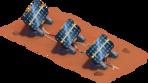 Solarpanel Süd