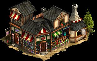 Große Zuckerbäckerei