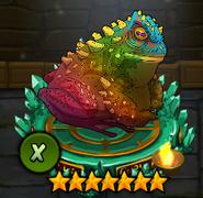 Rainbow ToadX
