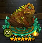 Brown-Green ToadIX