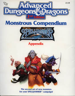 Monstrous Compendium Spelljammer Appendix 2