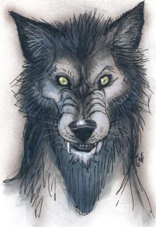 Vampiric wolf