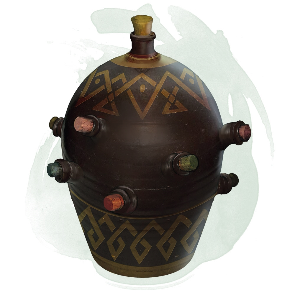 Alchemy jug