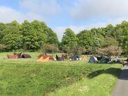D&D movie Alnwick Castle tents