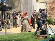 D&D movie Wells Cathedral shooting 1