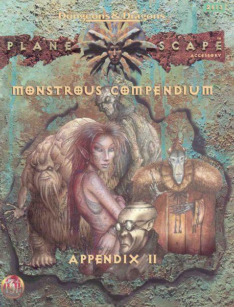 Monstrous Compendium Planescape Appendix II