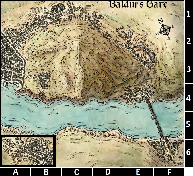 Baldur's Gate/Outer City