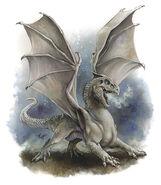White dragon wyrmling 4e