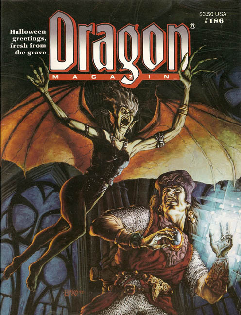 Dragon magazine 186